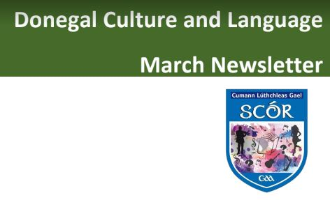Donegal Language and Culture – March newsletter
